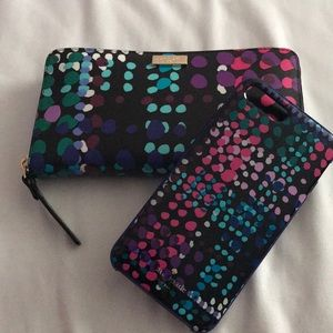 Bundle kate spade wallet and phone case!